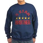 5 Star Brother Sweatshirt (dark)