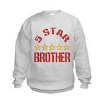 5 Star Brother Kids Sweatshirt