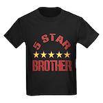 5 Star Brother Kids Dark T-Shirt