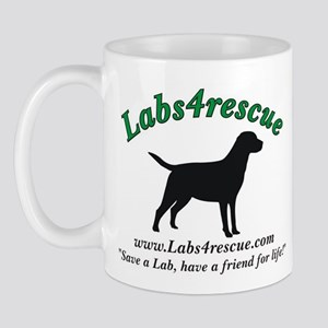 Labs4rescue Mug (Lefty)