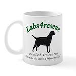 Labs4rescue Mug (Lefty)