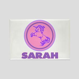 """""""Sarah Unicorn"""" Rectangle Magnet"""