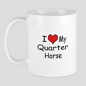 "I ""Heart"" My Quarter Horse Mug"