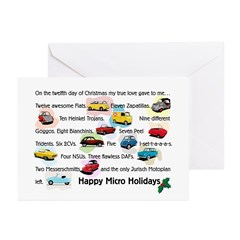 Microcar Greeting Cards (Pk of 10)