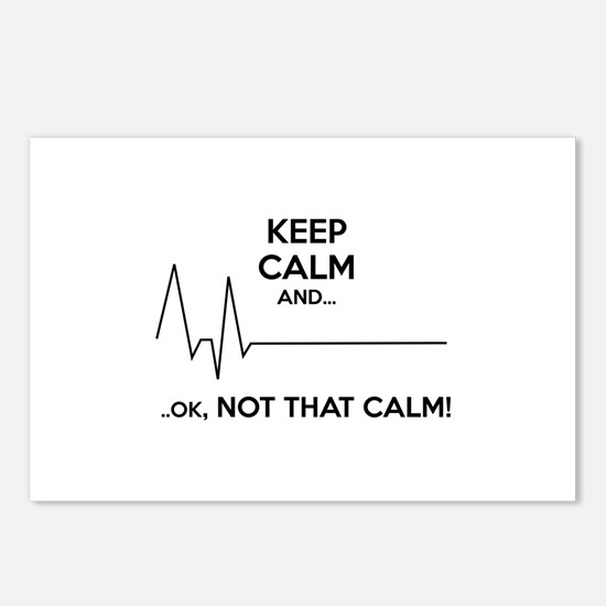 Keep calm and... Ok, not that calm! Postcards (Pac
