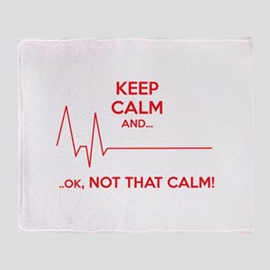 Keep calm and... Ok, not that calm! Stadium Blanke