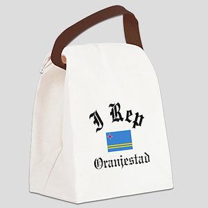 I rep Oranjestad Canvas Lunch Bag