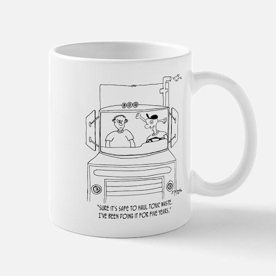 Trucker Cartoon 7395 Mug