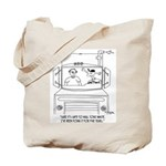 Trucker Cartoon 7395 Tote Bag
