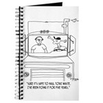 Trucker Cartoon 7395 Journal