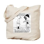 Science Cartoon 7084 Tote Bag