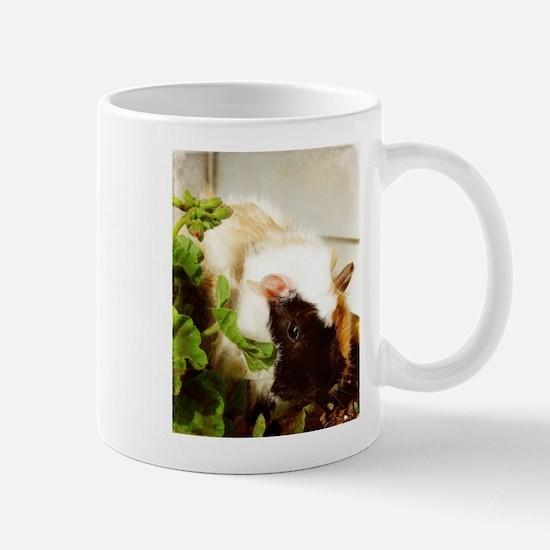 Guinea Pig in the FLowers Mug