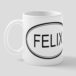 Felix Oval Design Mug