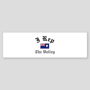 I rep The Valley Sticker (Bumper)