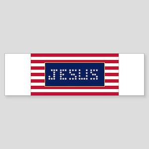 JESUS#3 Sticker (Bumper)
