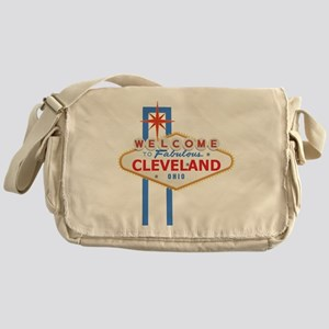 Welcome to Cleveland Messenger Bag