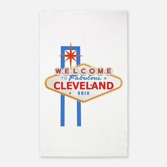 Welcome to Cleveland 3'x5' Area Rug