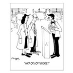 Science Cartoon 6908 Small Poster