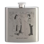 Science Cartoon 6908 Flask