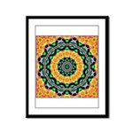 Dizzy Doodlers Framed Panel Print