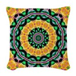 Dizzy Doodlers Woven Throw Pillow