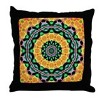 Dizzy Doodlers Throw Pillow