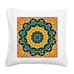 Dizzy Doodlers Square Canvas Pillow