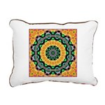 Dizzy Doodlers Rectangular Canvas Pillow