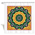 Dizzy Doodlers Shower Curtain