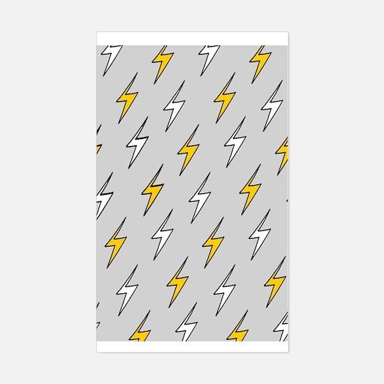 'Lightning' Sticker (Rectangle)