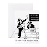 Philosophy Cartoon 6047 Greeting Card