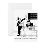 Philosophy Cartoon 6047 Greeting Cards (Pk of 20)