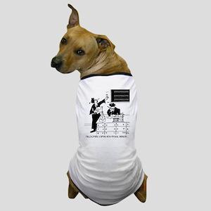 Philosophy Cartoon 6047 Dog T-Shirt