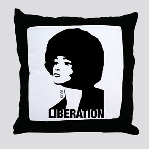 Angela's Liberation Throw Pillow