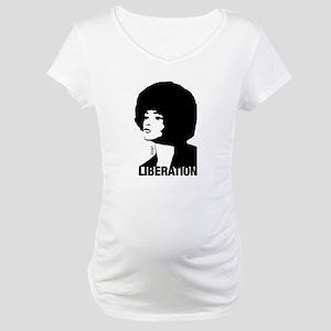 Angela's Liberation Maternity T-Shirt