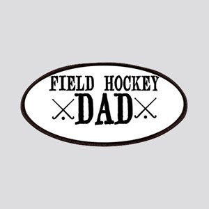 Field Hockey Dad Patches