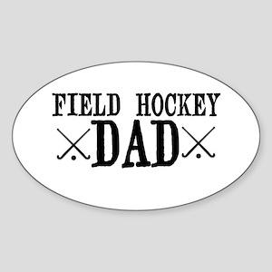Field Hockey Dad Sticker