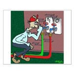 Water Cartoon 7959 Small Poster