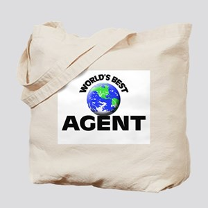 World's Best Agent Tote Bag