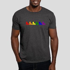 Inline Skate Rainbow T-Shirt