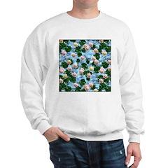 Waterlily reflections Sweatshirt