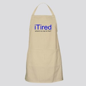 iTired Where's my nap? Apron