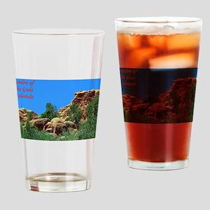 Garden of the Gods #12 Drinking Glass