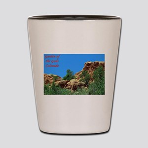 Garden of the Gods #12 Shot Glass