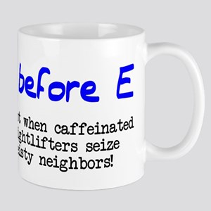I before E except after... Mug