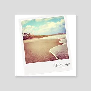Bali beach 1983 Sticker