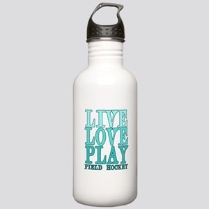 Live, Love, Play - Field Hockey Water Bottle