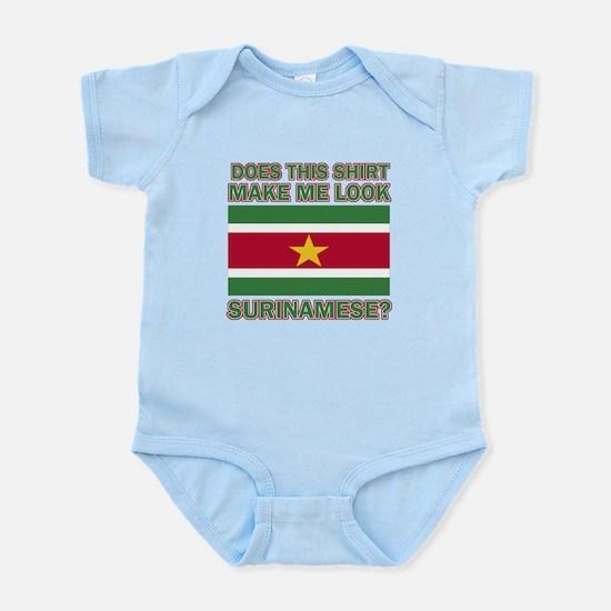 Patriotic Surinamese designs Infant Bodysuit