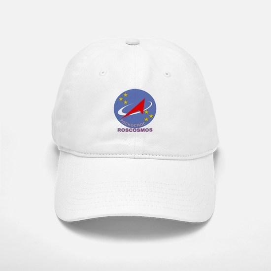 Roscosmos Blue Logo Baseball Baseball Cap