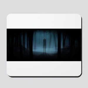 Oh No It's Slender-Man Mousepad